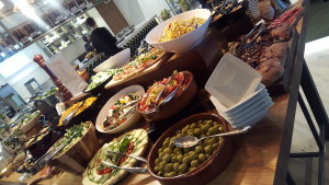 Lunch at Pure Progress Workshop